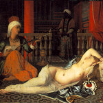 Ingres, L'Odalisque à l'esclave (1839), since I'd just as soon not stare at slugs again